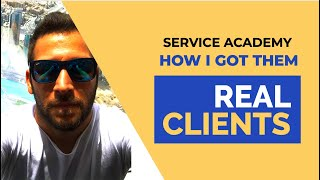 How I Helped Service Academy Business Mastermind To Generate Real Clients [Testimonial]