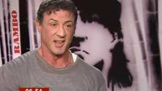Sylvester Stallone Interview with BBC News - BBC Breakfast