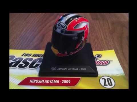 (20) 1/5 Aoyama 2009, MotoGP Helmet.