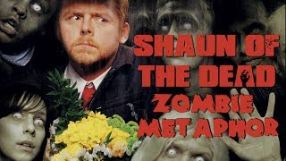 Shaun of the Dead - Zombie Metaphor