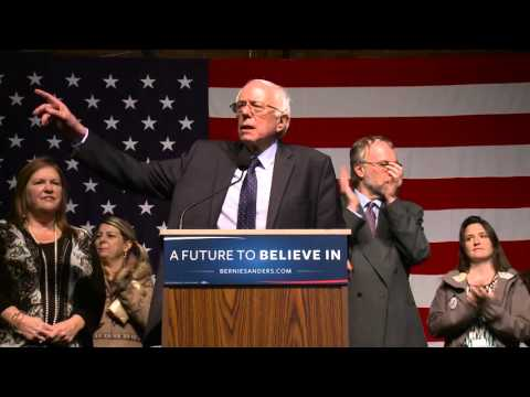 Post Debate in NH | Cornel West, Bernie Sanders