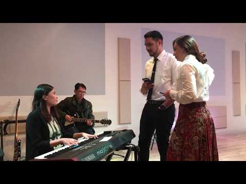 Yesus Aku Cinta (Live) - Asmirandah & Jonas Rivanno