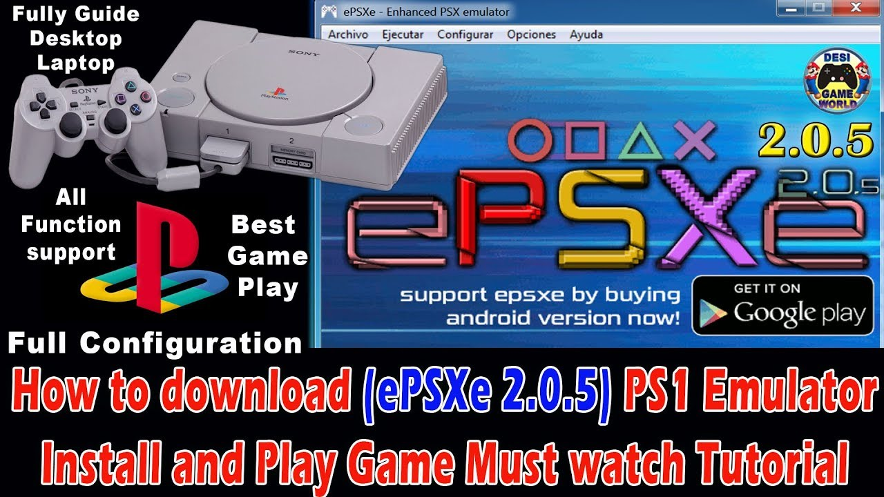 free download epsxe ps1 for android