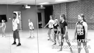 "Carlos Garland - Kids Hip Hop Dance Master Class Brunswick, GA (""Yeah 3x"" Sept. 2012)"