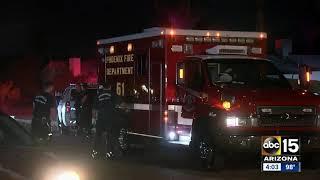 1 dead, 1 hurt in overnight shooting in Phoenix