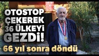 Otostop Çekerek Çıktığı Ülkesine 66 Yıl Sonra Geri Döndü