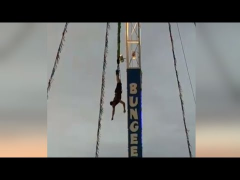 19-Year-Old Left Dangling by His Feet When Bungee Jump Malfunctioned