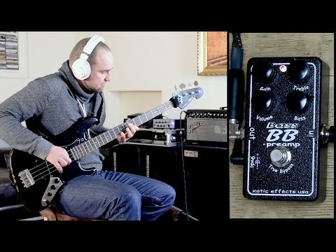 XOTIC BB BASS PREAMP | BassTheWorld.com