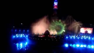 Световое шоу в Останкино, 13.10.2014