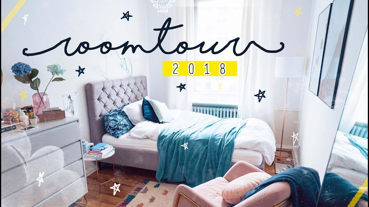 ROOMTOUR 2018 // Meine Schlafzimmer Tour - Pinterest Decor ...