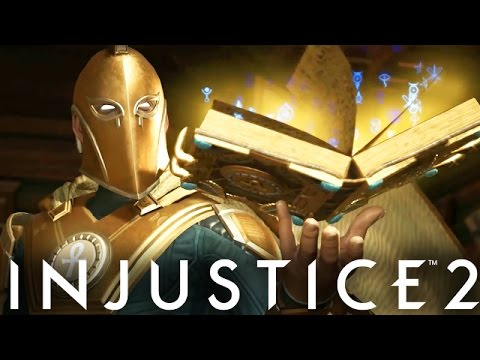 Injustice 2: Dr. Fate Gameplay Coming To The Watchtower Joining Robin! (Injustice Gods Among Us 2)