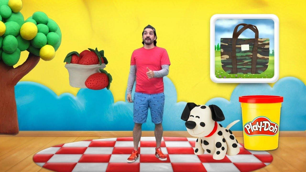 La Hora del Aprendizaje Play- Doh | Vámonos de Picnic con Play- Doh |