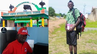 Why I Charge Students Gh50 & Gh100 As Fees For My School - LilWin Shocks People