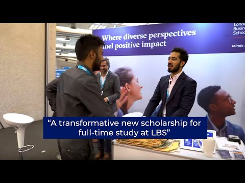 The One Young World & London Business School Scholarship | London Business School