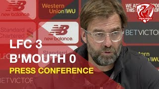 liverpool-3-0-bournemouth-jurgen-klopp-press-conference