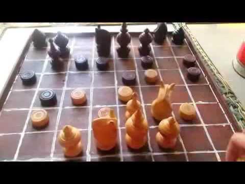 Chess Khmer   Fish 048   Khmer Thai Lao Myanmar Chess