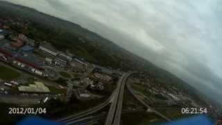 Oviedo con ala volante. FlyingWing R/C Wing Camera II (((Medi@Planes)))
