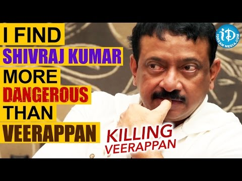 I Find Shivraj Kumar More Dangerous Than Veerappan - RGV || Talking Movies with iDream