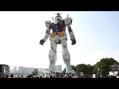 Japan Builds Giant 18 Meter Tall …