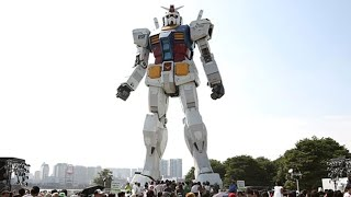 Japan Builds Giant 18 Meter Tall Robot