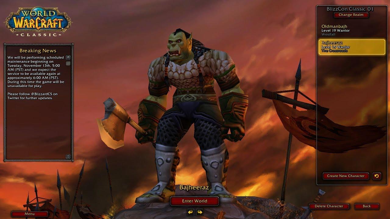 Bajheera - Classic WoW: Horde Warrior Leveling Adventures
