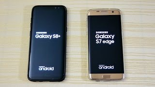 Galaxy S8 vs S7 Edge - Speed Test! (4K)