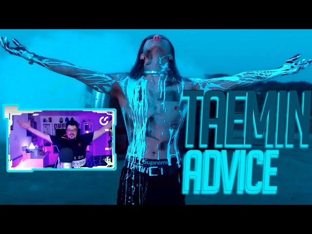 Mikey Reacts to TAEMIN 태민 'Advice' MV