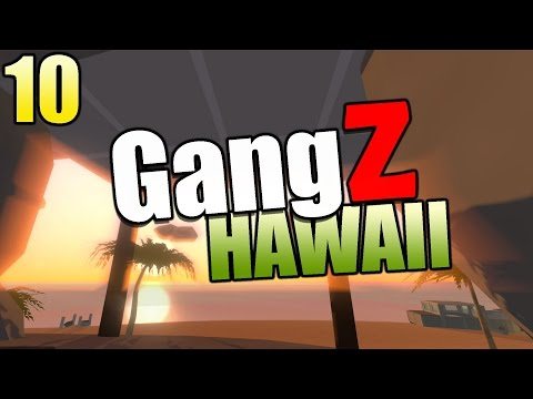 Unturned  Gameplay Hawaii Map GangZ: Solo Mega Kill and SECRET UNDERWATER AREA FOUND