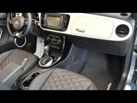 New 2019 Volkswagen Beetle Convertible Gaithersburg MD Bethesda, MD #19B482