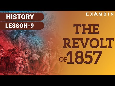 The Revolt of 1857 in India - Sepoy Mutiny - First war of Indian Independence