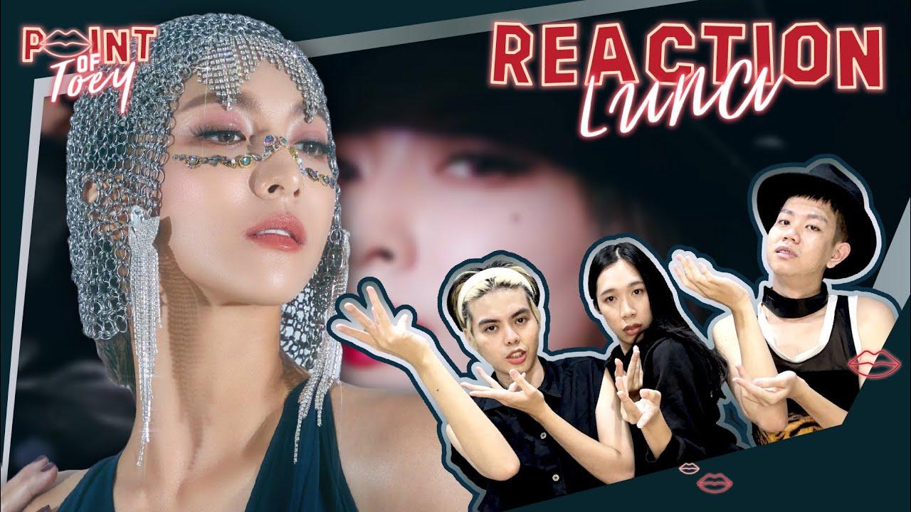 LUNA(루나) _ Madonna MV [REACTION]   Point of Toey