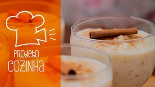 Canjica Doce | Sweet Hominy Pudding