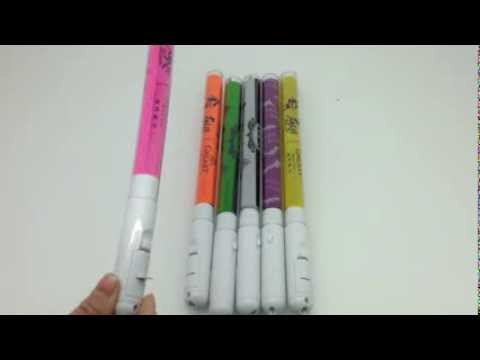 FIRE WOLF OEM colorful paper with LED flashing stick for concert or party