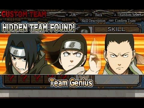 Naruto Ultimate Ninja Heroes Walkthrough Part 1 Survival Exercise (Team Genius)