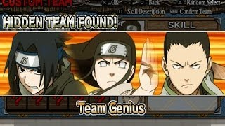Naruto Ultimate Ninja Heroes Walkthrough Part 1 Survival Exercise (Team Genius)