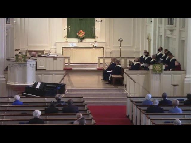 Westminster Akron Sunday Worship Live Stream - Sept 26 2021