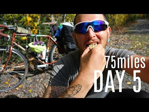 WHAT I EAT IN A DAY CYCLING ACROSS ALASKA AS A VEGAN// DAY 5