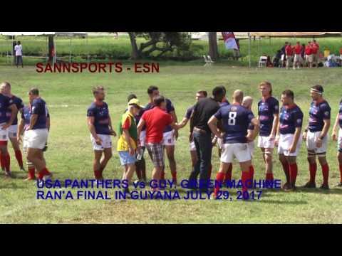 GUYANA vs USA RAN'S FINAL 2017 JULY 29 GUYANA PART ONE