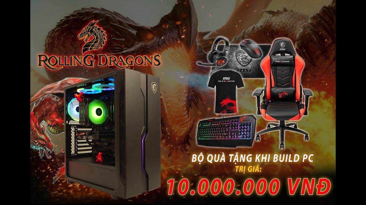 Bộ PC 29 Triệu Đồng Tặng Full Gaming Gear MSI 10 triệu có gì hot ?