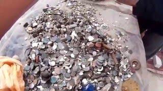 Пляжный коп в море за 14 дней одним человеком.