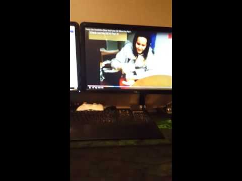 Cat watching cat videos