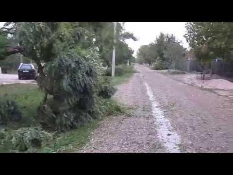 Краснодарский край. После урагана Глафировка сентябрь