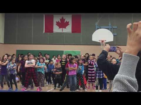 Luv to Groove New Hazelton Elementary School