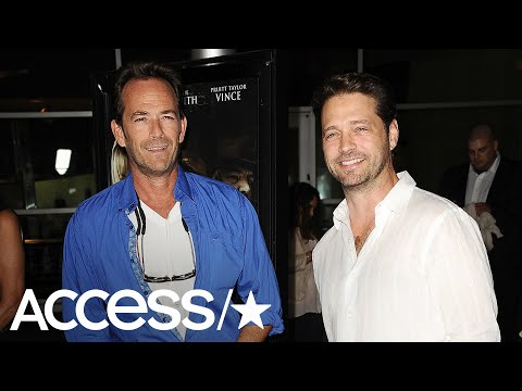 Jason Priestley Shares Emotional Tribute To Luke Perry | Access