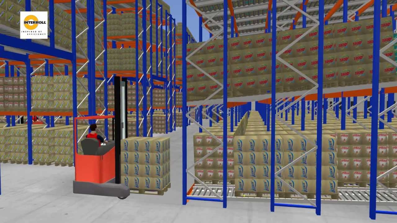 3d Warehouse Simulation Taravrbuilder Youtube