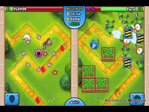 Most addicting game ever. Bloons BT Battles.