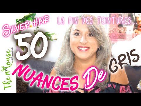 50 NUANCES DE GRIS (SILVER HAIR) ⭐️BEAUTE +50ANS⭐️