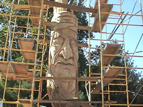 Carving Chief  Tecumseh