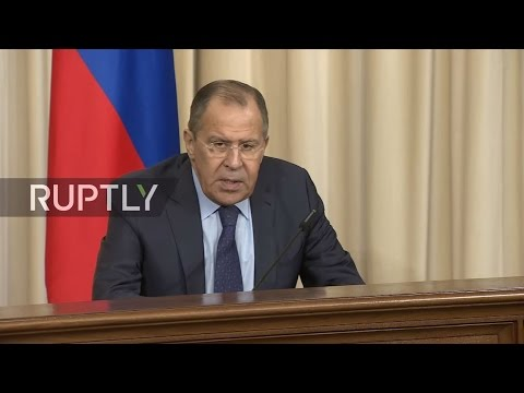 LIVE: Lavrov and Benin FM hold press conference in Moscow