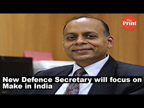 New Defence Secretary will focus on Make in India